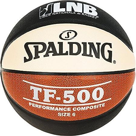 Spalding Lnb Tf500 Ballon de Basket-Ball Mixte SPAA3|#Spalding
