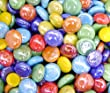 Creative Stuff Glass - 1 Lb - Mixed Opal Colors Glass Gems - Vase Fillers (12-19mm, Approx. ½\