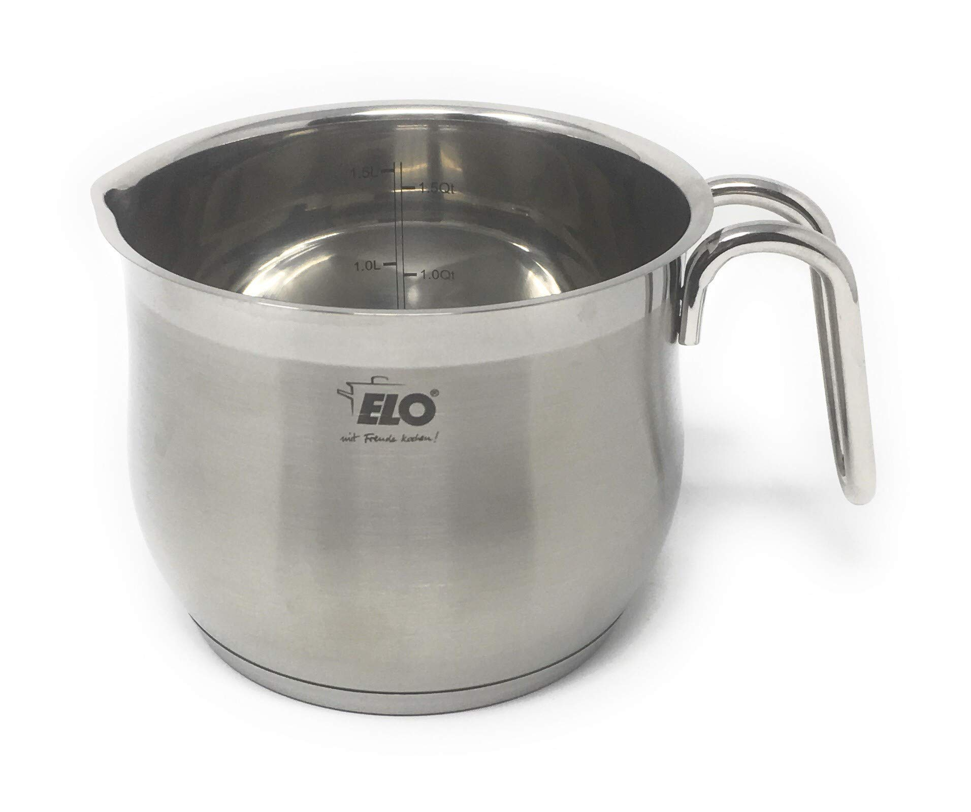 ELO Germany Platin Stainless Steel Induction Milk Pot by ELO Cookware