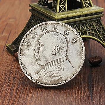 Paleo Kupfer Nickel Silber Münzen Sammeln Yuan Shikai Leiter Ancient