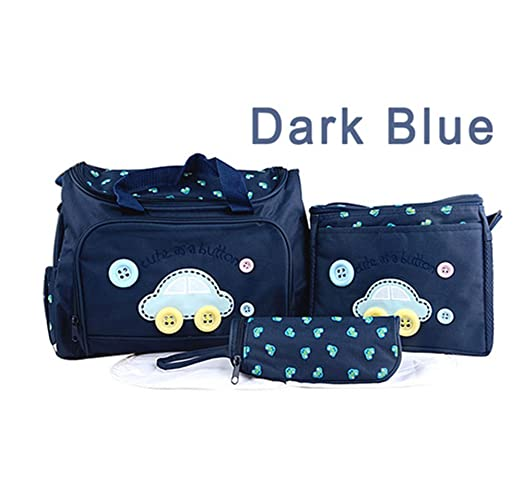 Katoot@ Retail Fashion Multifunctional Nappy Mummy Bag Maternity Handbag Diaper Bags baby Tote Organizer hot sale (Dark Blue)