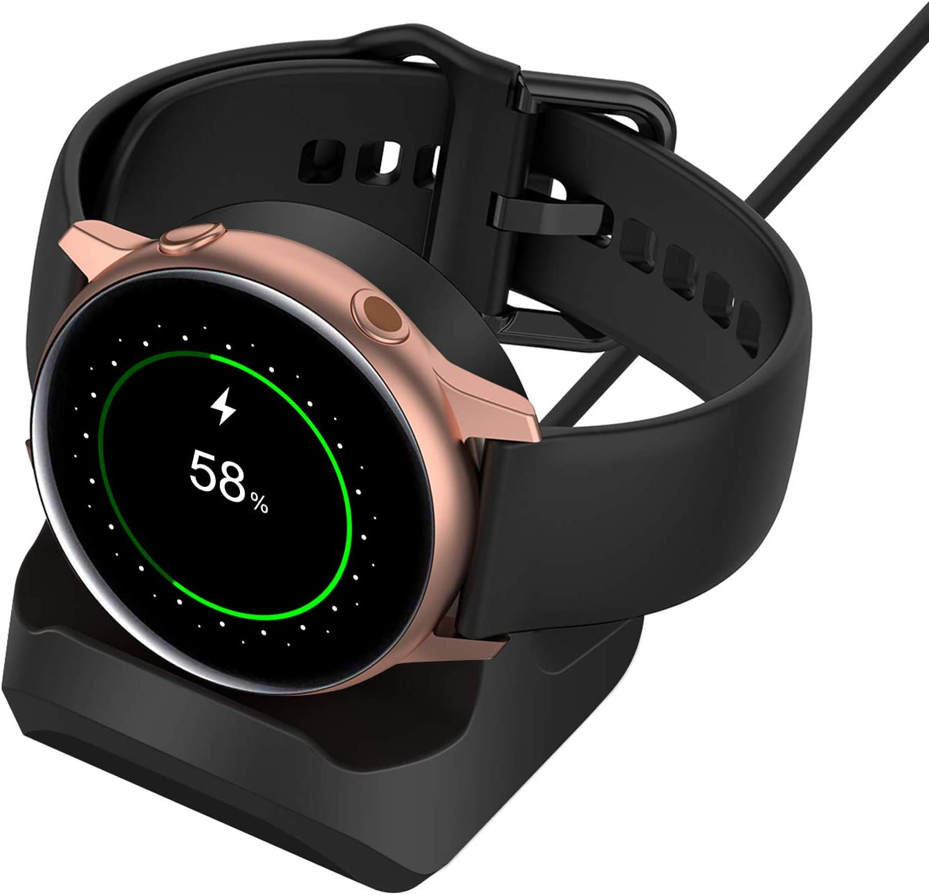 Stand for Samsung Galaxy Watch Non-Slip Silicone Charging Dock Holder