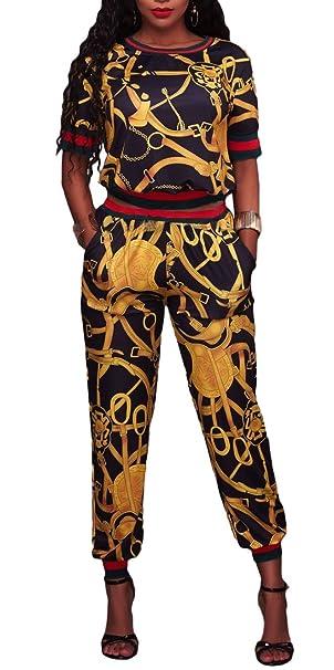 Cfanny Mujer Contraste Borde Halter V cuello jersey deportes activos Mono Pelele - negro - : Amazon.es: Ropa y accesorios