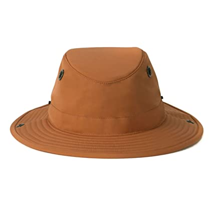 Amazon.com  Tilley TWS1 Paddlers Hat Orange 75 8  Sports   Outdoors 2fd9bac3647