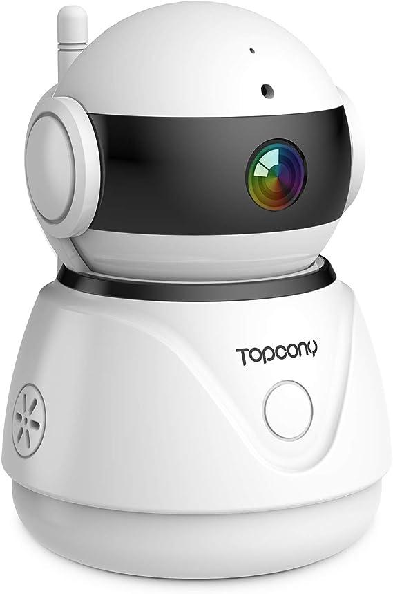 topcony 1080P Indoor Camera, Support Cloud Storage: Amazon.es ...
