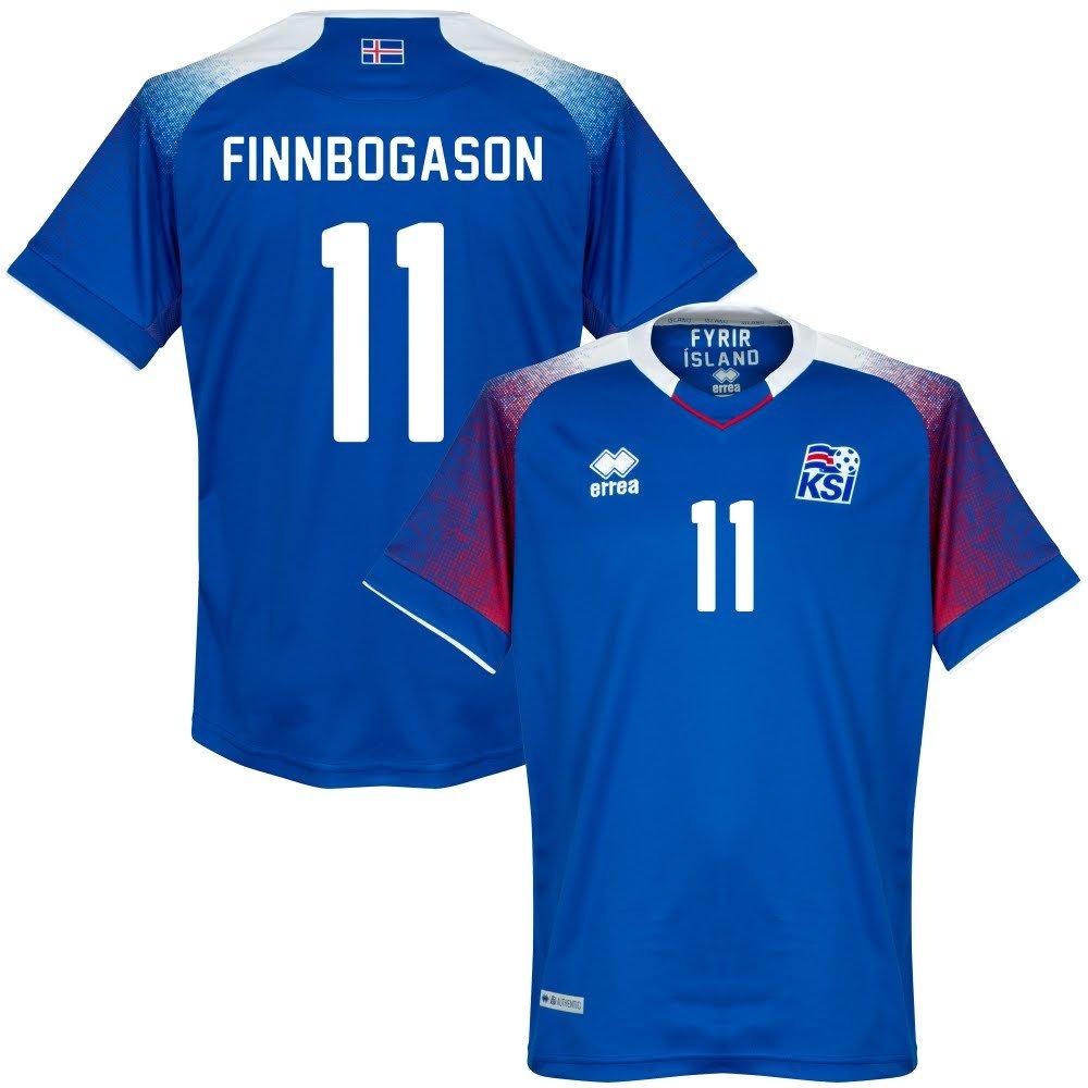 Island Home Trikot 2018 2019 + Finnbogason 11