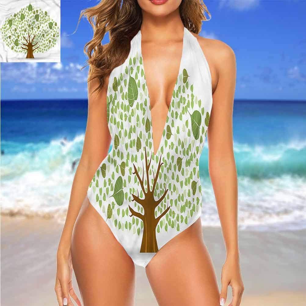 Sapin de bikini avec dos nu en chêne pour enterrement de vie de jeune fille Multi 23.