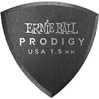 Ernie Ball P09331 Ernie Ball 1.5 mm Shield Prodigy Picks 6 Pack, Black, Black, 1.5 mm