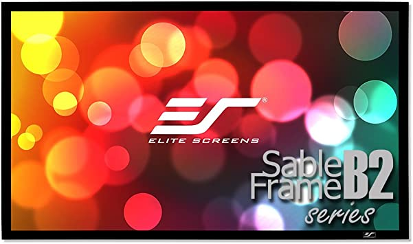 Elite Screens Sable Frame B2, 110-INCH Diag. Pantalla para ...