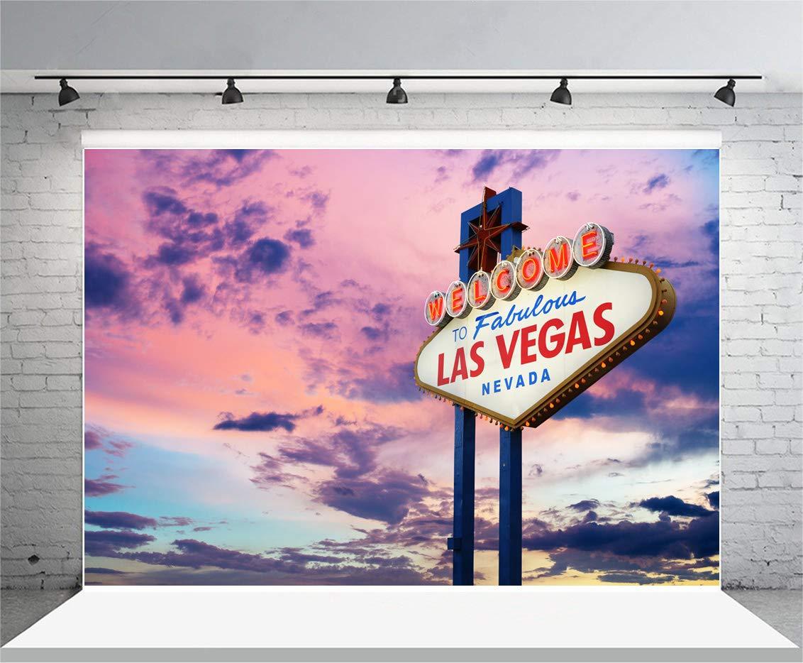 SSA003 - Cartel de Bienvenida a Las Vegas (1,5 x 2,1 m ...