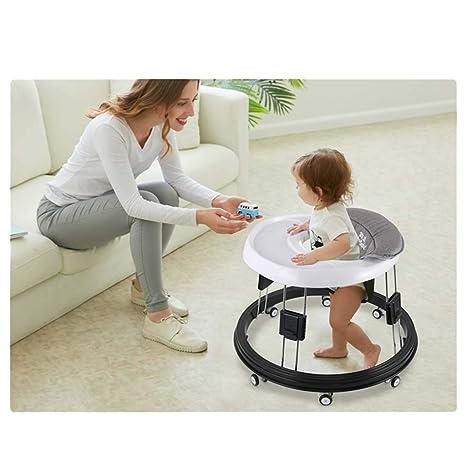 A~LICE&BW Andador para bebés, multifunción con Ruedas universales ...