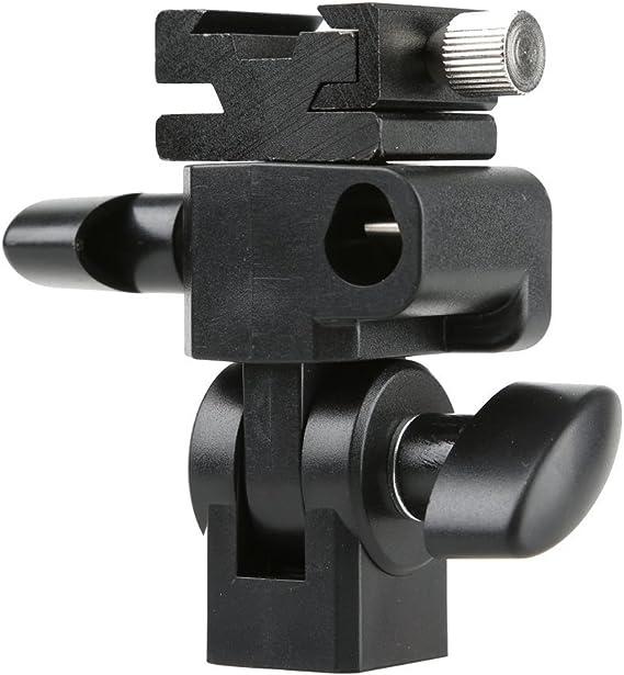 Godox Strong E-Type Multifuctional Swivel Bracket Holder for Godox Nikon Connon Flash Speedlite Hot Shoe Speedlite Light Stand Stduio Umbrella Holder Bracekt