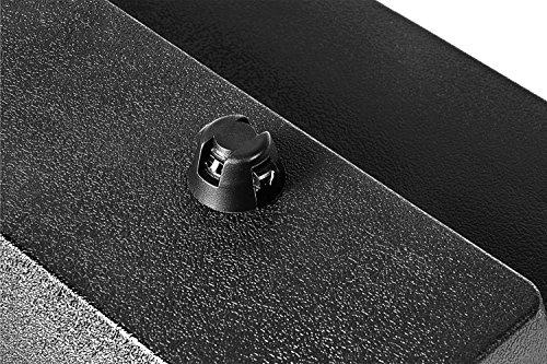Reebok Step 95x 35x 15cm, negro / gris negro y blanco