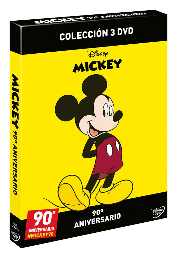 Pack Mickey - Edición 90º Aniversario [DVD]: Amazon.es: No ...