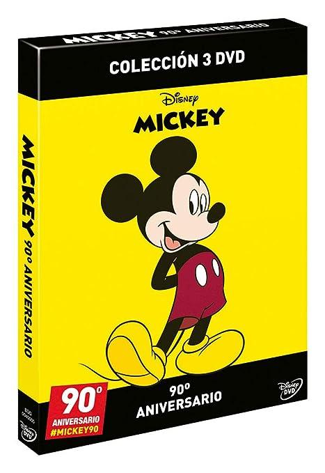 Pack Mickey - Edición 90º Aniversario [DVD]: Amazon.es: No disponible: Cine y Series TV