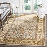 Safavieh Lyndhurst Collection LNH212J Traditional Oriental Grey and Beige Square Area Rug (8' Square)