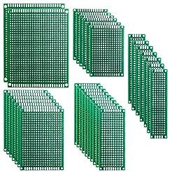 ELEGOO 32 Pcs Double Sided PCB Board Pro...