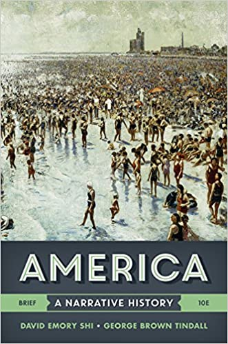 Amazon america a narrative history brief tenth edition vol america a narrative history brief tenth edition vol one volume brief tenth edition fandeluxe Image collections