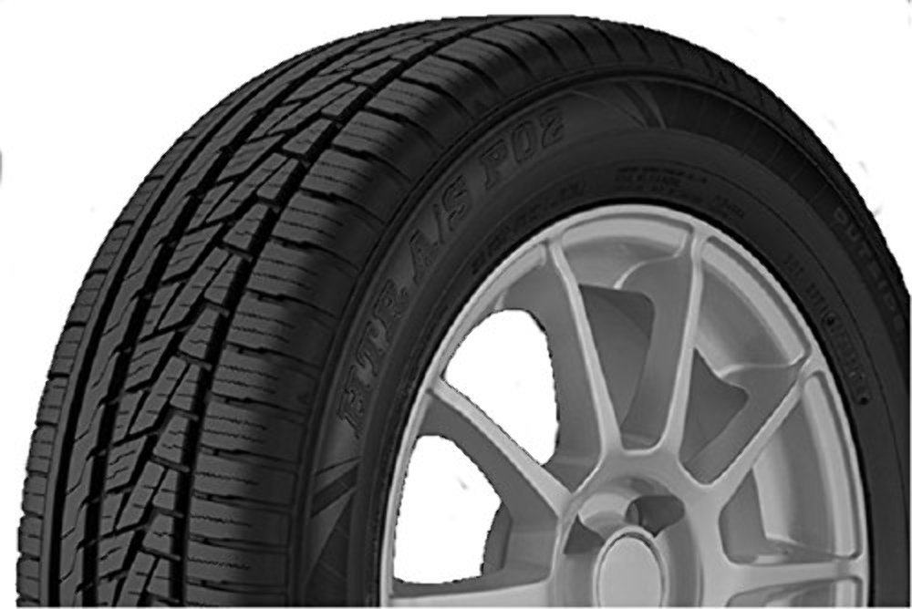 Sumitomo Tire HTR A/S P02 Performance Radial Tire - 225/50R18 95W