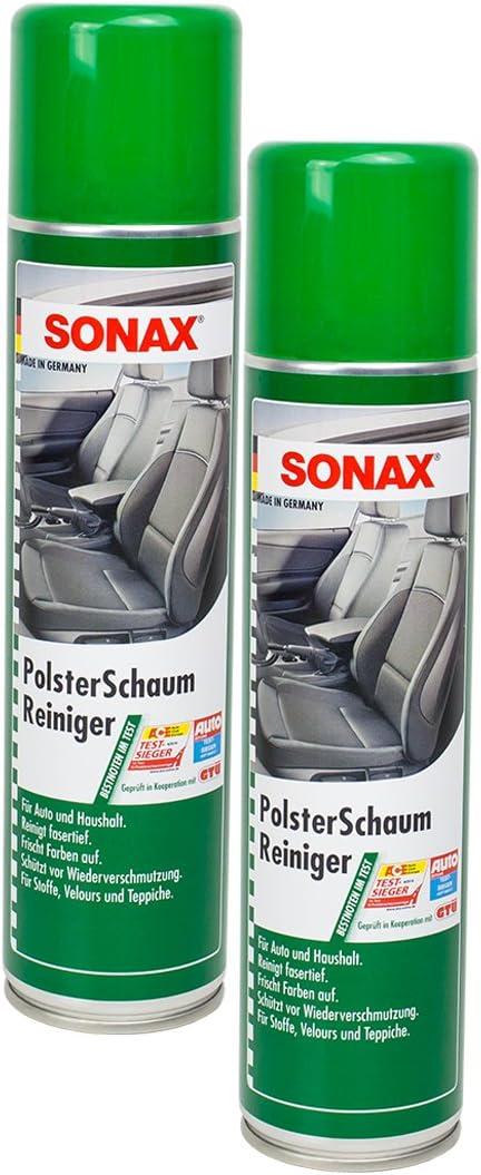 Sonax 2x 03062000 Polsterschaumreiniger Polsterreiniger 400ml Auto