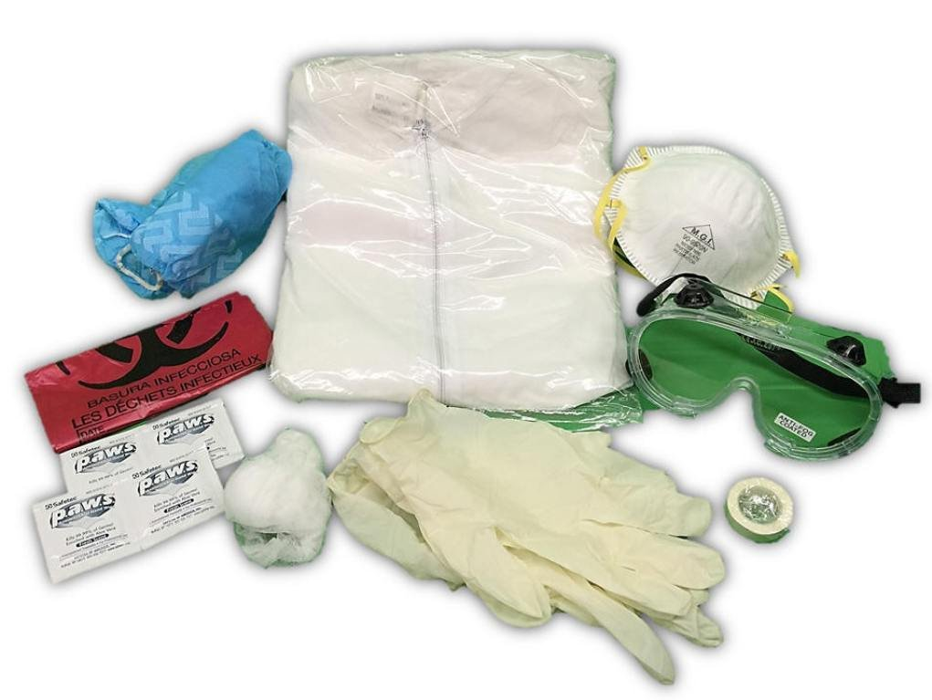 Pandemic Quick Kit Single-use Complete Suit, One Size