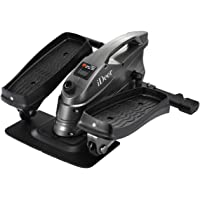 Mini Exercise Bike, Under Desk Elliptical, Sit and Stand Cycle Machine with Large Pedal and Stable Base, Fitness Exercise Stepper Peddler for Home and Office Aerobic Workout