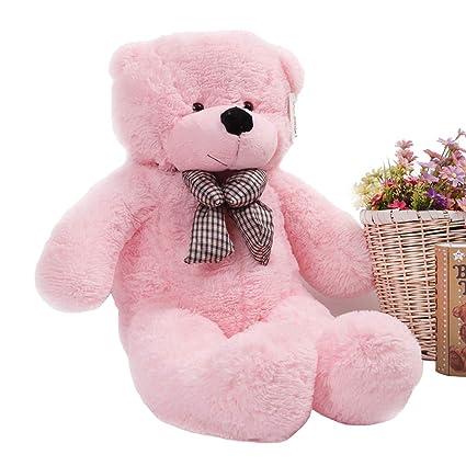 "39/"" Stuffed Giant 100CM Big Pink Plush Teddy Bear Huge Soft 100/% Cotton Doll Toy"
