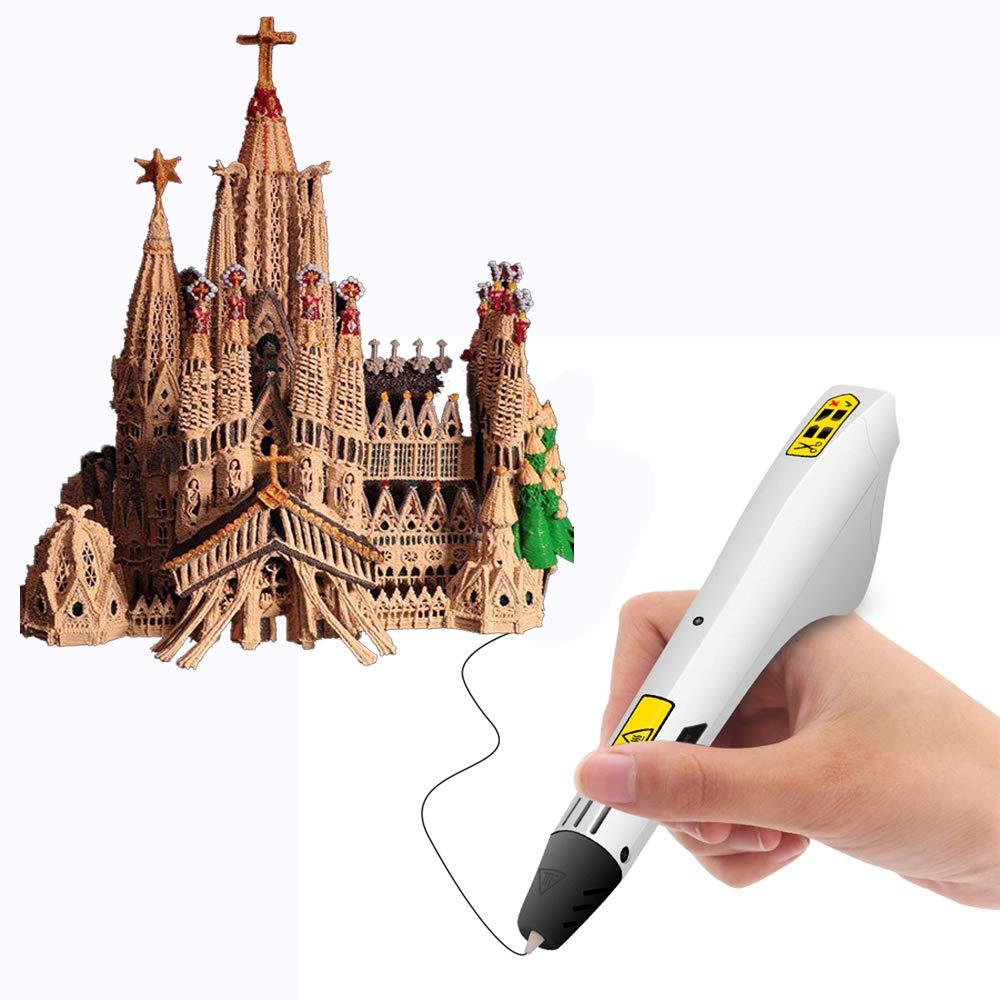 AMZ BCS 3D Dibujo impresión Pluma DIY Arte creación Impresora 12 ...