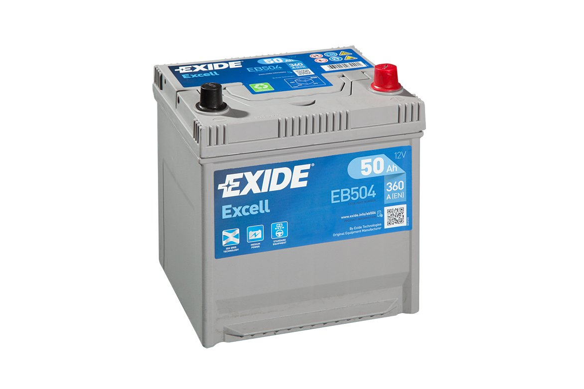 Exide Excell Eb504 Car Battery 008Se 50 Ah