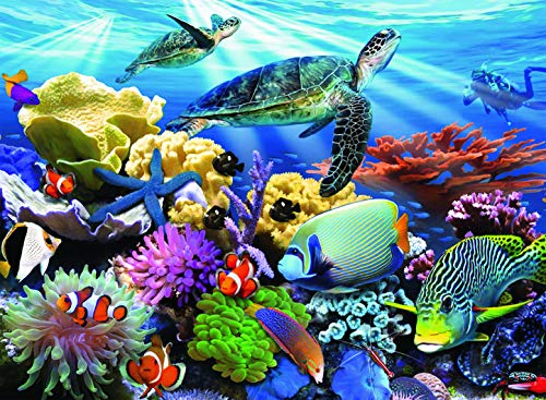 Ravensburger Ocean Turtles - 200 Piece Jigsaw Puzzle for Kids - Every Piece is Unique, Pieces Fit Together Perfectly