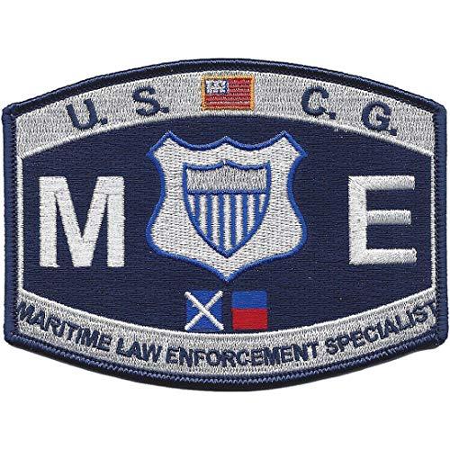 (Coast Guard Maritime Law Enforcement ME Rating Patch 4 1/2