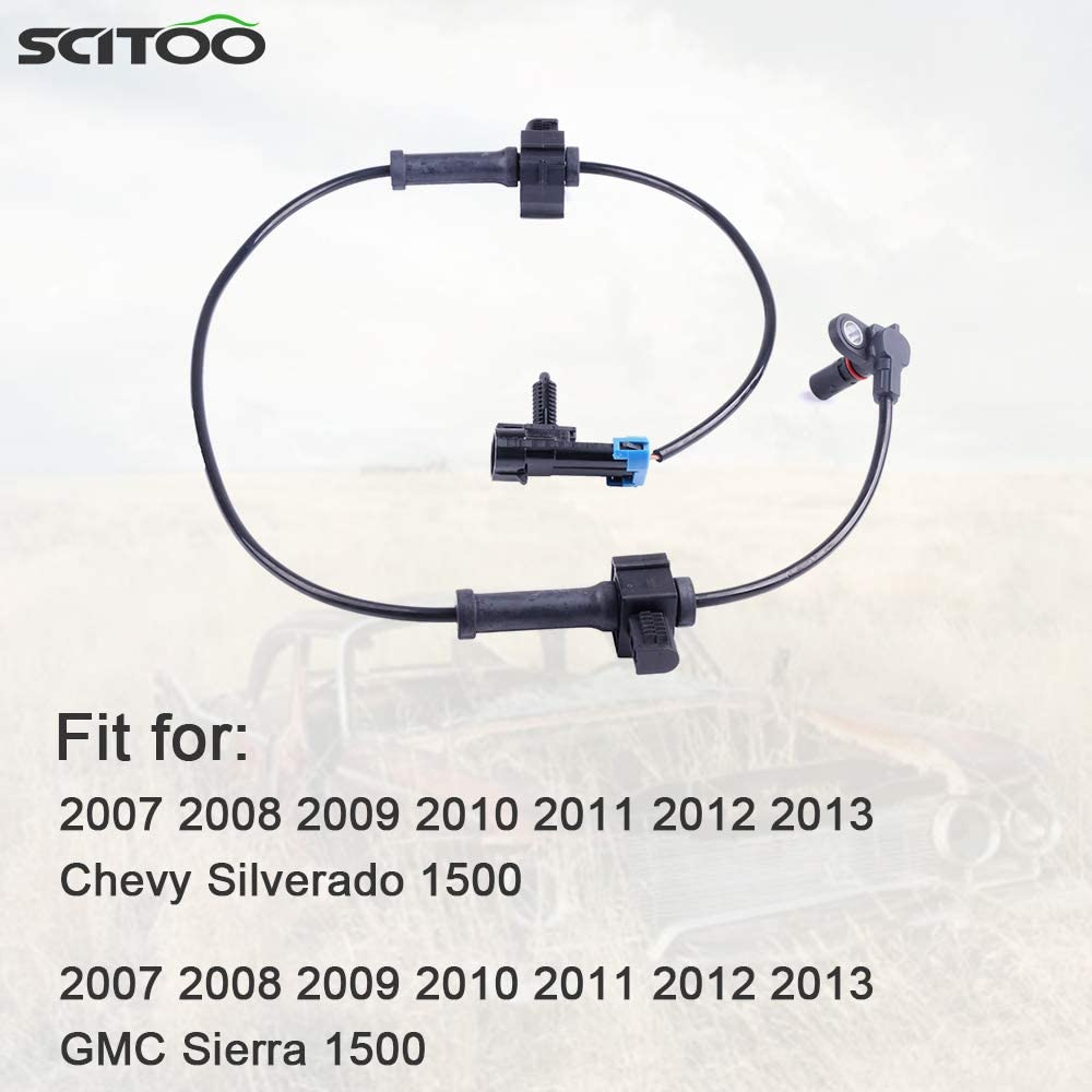New Rear Complete ABS Wheel Speed Sensor Fits GMC Sierra 1500 2007 2008-2013