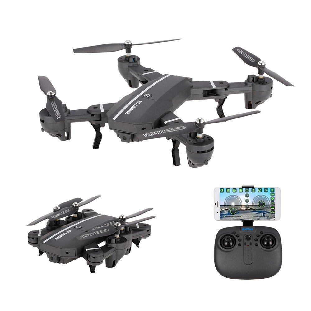 Goolsky 8807W Faltbare 0.3MP Kamera Wifi FPV FPV FPV Drohne 6-Achsen Gyro Höhe Hold Headless Modus G-Sensor RC Quadrocopter e54945