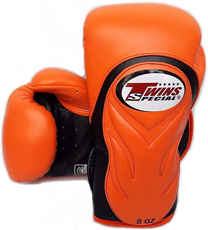 Twins  Boxing Gloves BGVL-3 Green  8,10,12,14,16 oz Sparring  MuayThai  MMA K1