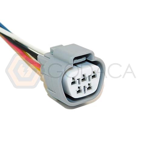 Conector Pigtail limpiaparabrisas motor 5 EVO Pigtail Socket para Nissan Mitsubishi