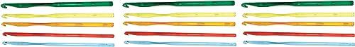 Crystalites 12408 Acrylic Crochet Hook Gift Set hree P ck