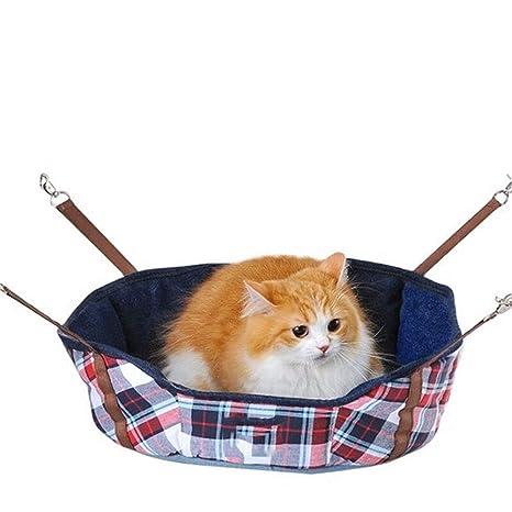 Jian E -/ Nido para Mascotas - Gato Jaula Hamaca Gato Hamaca Colgador para Gatos