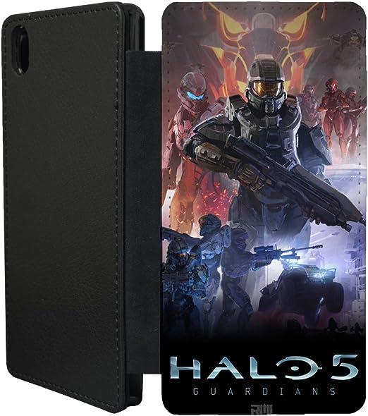 Consolas de XBox One Halo 5 funda con tapa para Sony Xperia Z3 ...