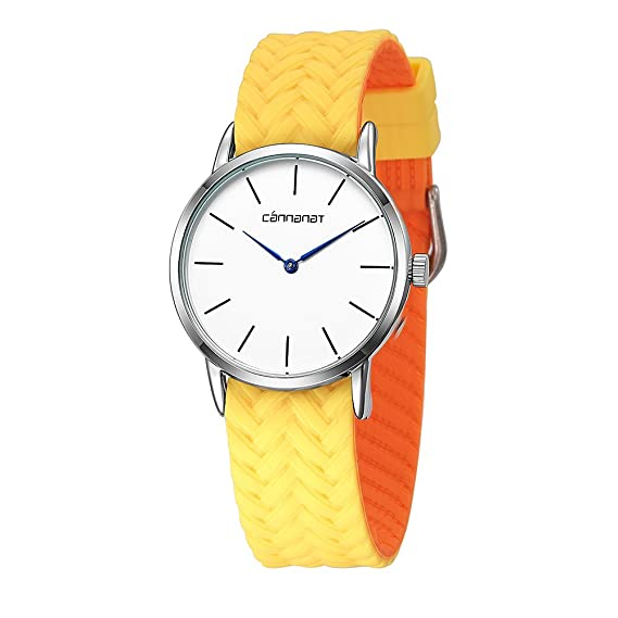 Amazon Com Clear Yellow Women S New Watch Stylish Designer