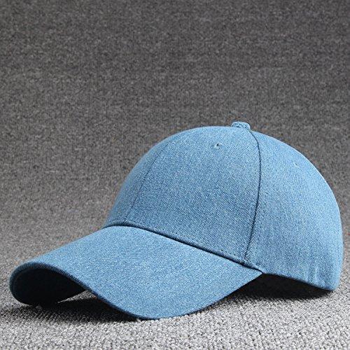 Mujeres Color Snapback Nuevo Hat alta sólido Gorra Hombres de calidad ALWLj Hat unisex Denim sólido vaqueros color zf6xdZ7dn