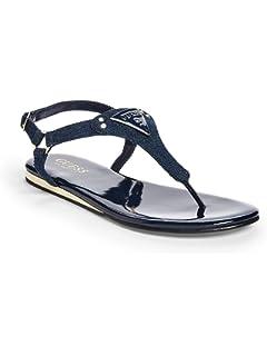 8ce99ed81b42 GUESS Factory Women s Carmela T-Strap Sandals