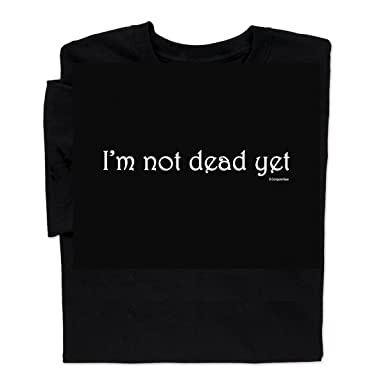 Amazoncom Computergear Im Not Dead Yet T Shirt Monty Python Holy