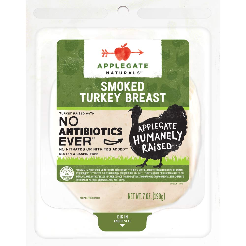 Applegate, Natural Smoked Turkey Breast, 7oz