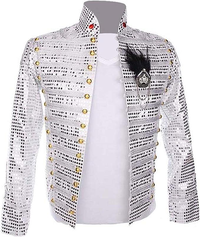 Amazon.com: Thriller9 Michael Jackson Chaqueta Rara Punk ...