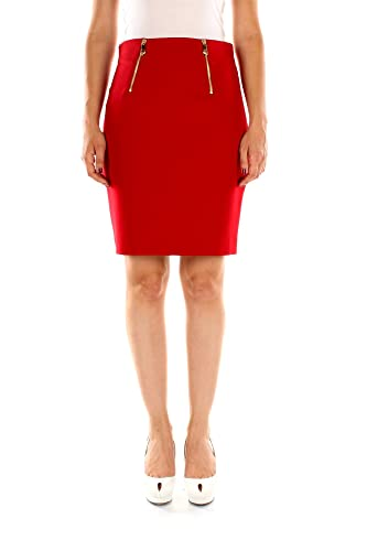 G33961G600556G1213 Versace Collection Faldas Mujer Poliéster Rojo