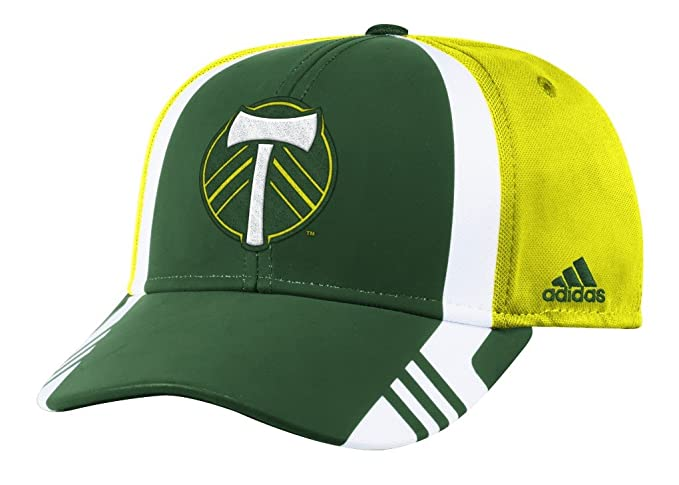 4a7945fdd6c Amazon.com   adidas Portland Timbers MLS 2017 Authentic Team Structured  Adjustable Hat   Sports   Outdoors