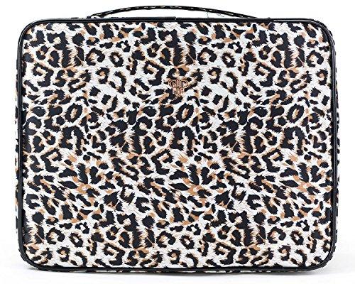 PurseN Diva Make-up Travel Case (One Size, Modern Leopard) by PurseN