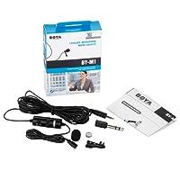 Boya by-M1 Microphone Cravate 3,5 mm pour Smartphone/Canon/Nikon Noir