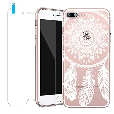 coque iphone 8 plus dentelle fleur