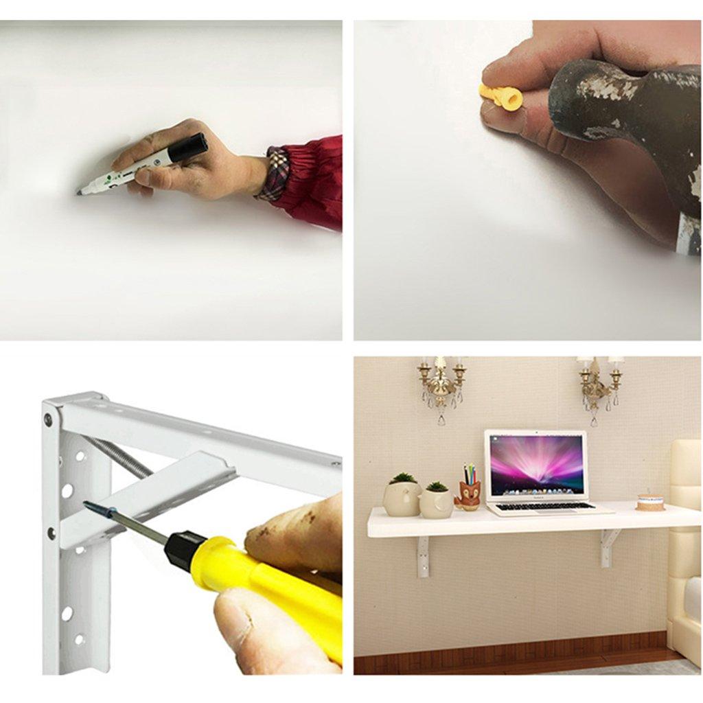 Amazon.de: SUBBYE Einfache Computer Schreibtisch Farbe Beistelltisch ...